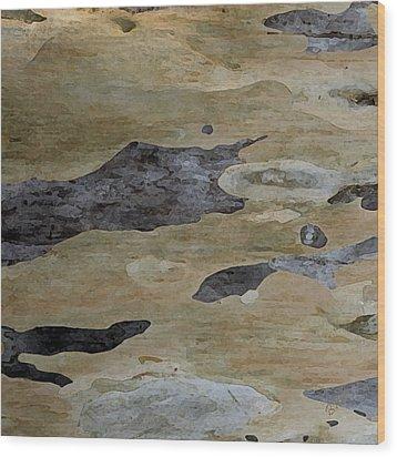 Tree Bark I Wood Print by Ben and Raisa Gertsberg