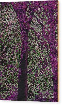 Tree Wood Print by Carol Lynch