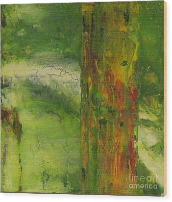 Tree Of Hope Wood Print by Ron Durnavich