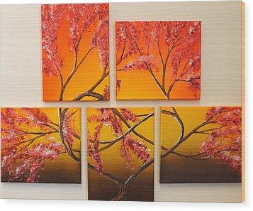 Tree Of Infinite Love Wood Print