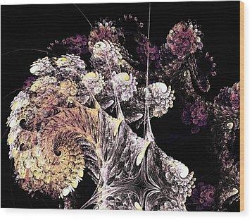 Tree Spirit Wood Print by Anastasiya Malakhova