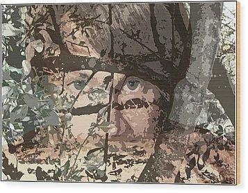 Tree Vision Wood Print