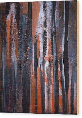 Tribal 2 Wood Print by Yul Olaivar