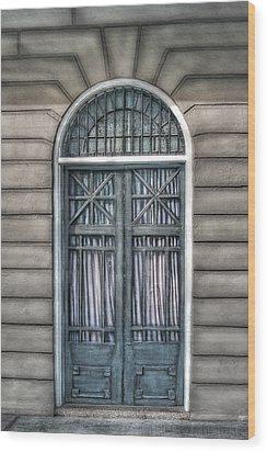 Trimestre De Porte Fracasse  Wood Print by Brenda Bryant