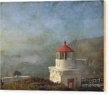 Trinidad Light House Wood Print