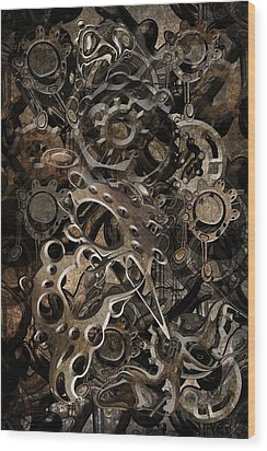 Trip 10 Wood Print by Andy Walsh