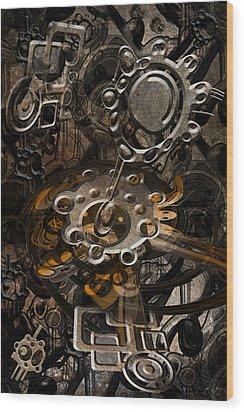 Trip 9 Wood Print by Andy Walsh