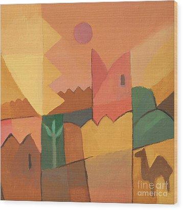 Trip To Tunisia Wood Print by Lutz Baar