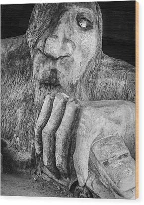 Troll Wood Print
