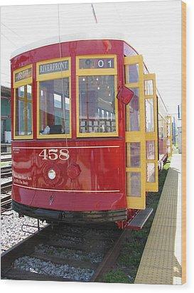 Trolley 458 Wood Print by Steven Parker