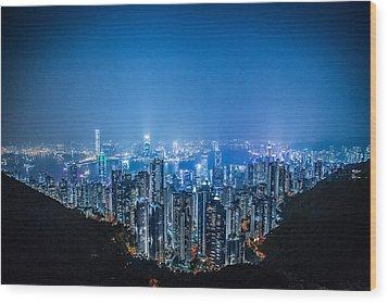 Tron Kong Wood Print