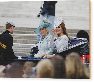 Trooping The Colour 2012 Wood Print