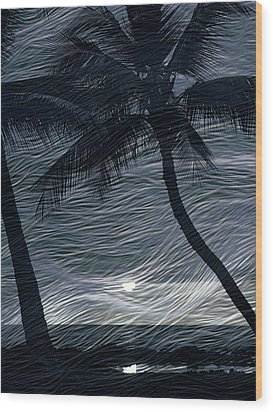 Wood Print featuring the photograph Tropical Breeze by Athala Carole Bruckner