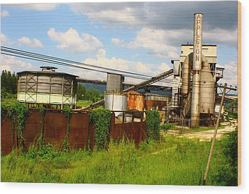 Wood Print featuring the photograph Tropical Distillery by Jon Emery