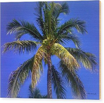 Tropical Palm Trees 8 Wood Print