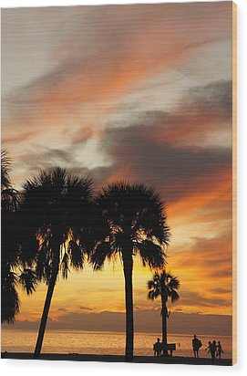 Wood Print featuring the photograph Tropical Vacation by Laurie Perry
