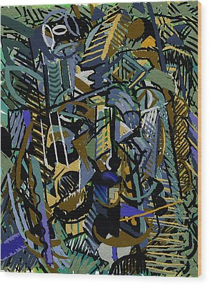 Tropicale Wood Print by Clyde Semler