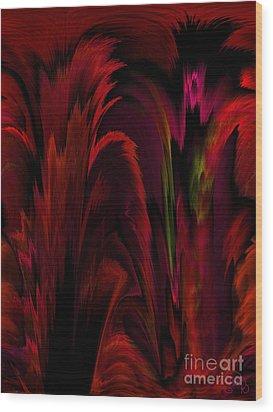 Tropicana Wood Print by Patricia Kay