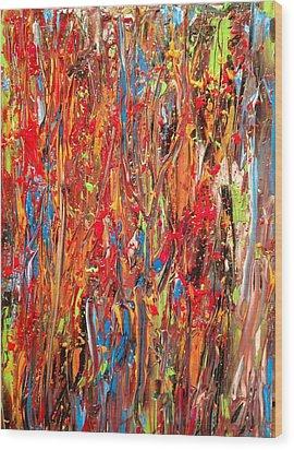 Tropics No. 1 Wood Print