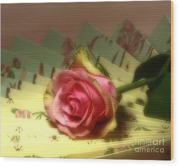 True Romance Wood Print by Inspired Nature Photography Fine Art Photography