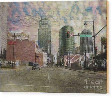 Wood Print featuring the photograph Truman Road Kansas City Missouri by Liane Wright