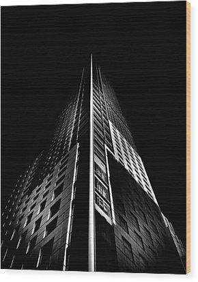 Trump Tower Toronto Canada Wood Print by Brian Carson