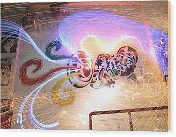 Trumpet Wood Print