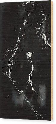 Trust Risk Wood Print
