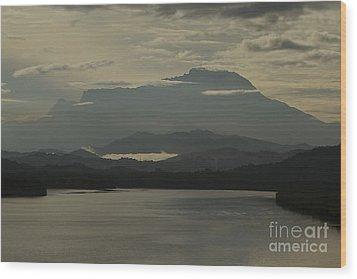 Wood Print featuring the photograph Tuaran River by Gary Bridger