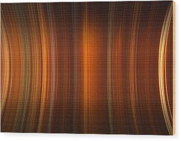 Tube Time Wood Print