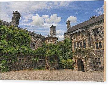 Tudor Castle Wood Print by Ian Mitchell