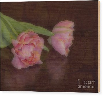 Tulips Wood Print by Alana Ranney
