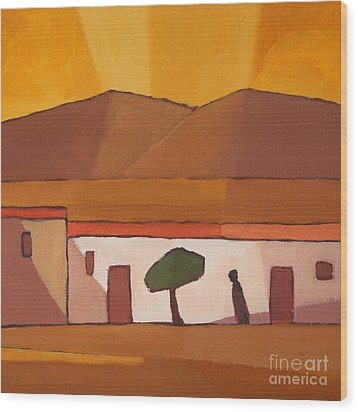 Tunisia Wood Print by Lutz Baar