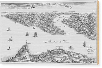 Turkey: Istanbul, 1680 Wood Print by Granger