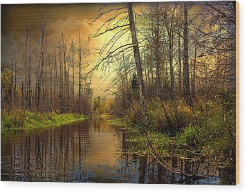 Turn Of Dawn Wood Print by Gary Smith