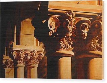 Turn Of The Century Wood Print