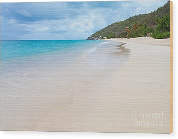 Turner Beach Antigua Wood Print