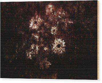 Turner's Flowers Wood Print