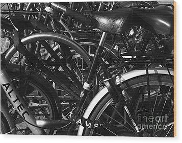 Wood Print featuring the photograph Turning Wheels by Maja Sokolowska