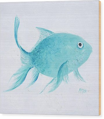 Turquoise tropical fish painting by jan matson for Jan s tropical fish