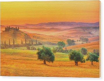 Tuscan Dream Wood Print
