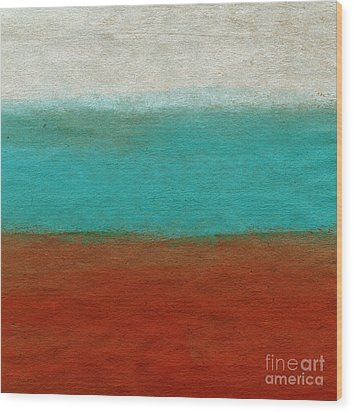 Tuscan Wood Print by Linda Woods