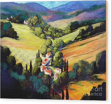 Tuscany Wood Print by Michael Swanson