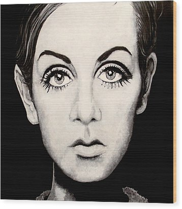 Twiggy Wood Print by Austin Angelozzi