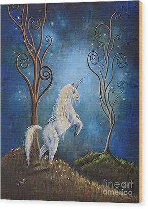 Twilight By Shawna Erback Wood Print by Shawna Erback