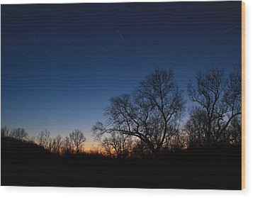 Wood Print featuring the photograph Twilight Dream by Julie Andel