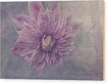 Twilight Wood Print by Faith Simbeck