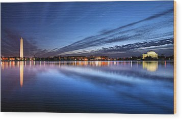 Wood Print featuring the photograph Twilight  by JC Findley