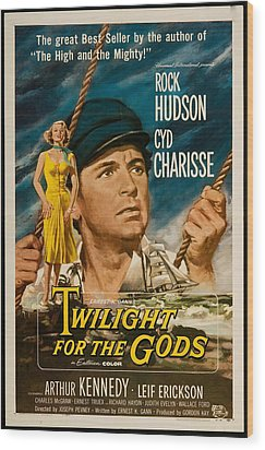 Twilight Of The Gods 1958 Wood Print by Mountain Dreams