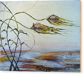 Twin Breezes Wood Print